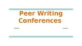 Peer Writing Conferences