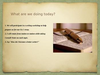 Peer-to-Peer Writing Workshop (Students Teaching Students)