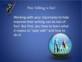 Teach your students how to peer-edit and self-edit papers