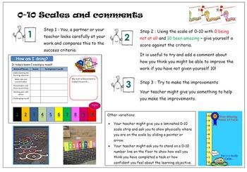 Peer and self assessment strategies
