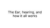 Peer education: hearing loss, ear anatomy, and technology