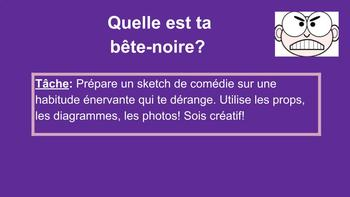 French Speaking Activity: What's Your Pet Peeve?
