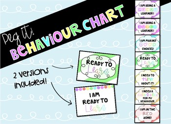 Peg It! Behaviour Chart!!