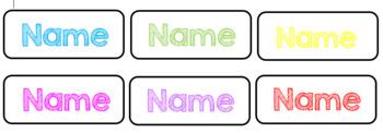 Editable Peg Labels