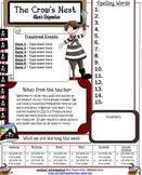 Peg Leg Pirate Theme Newsletter