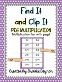 Find It and Clip It Multiplication