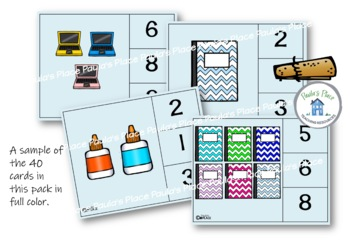 Peg that Number - Back to School Theme