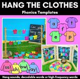 Hang the Clothes | Phonics Game Templates | Kindergarten Phonics