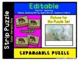 Pegasus - Expandable & Editable Strip Puzzle w/ Multiple O