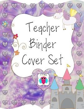 Pegasus Teacher Binder Covers