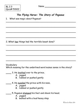 Pegasus and Abe Lincoln's Hat Book Club Packets
