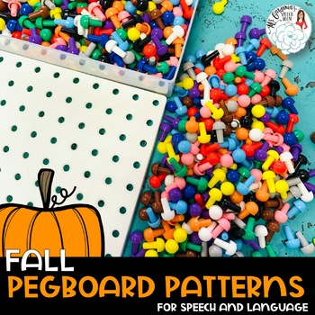 Pegboard Patterns for Speech and Language: Fall