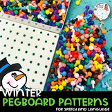 Pegboard Patterns for Speech and Language: Winter