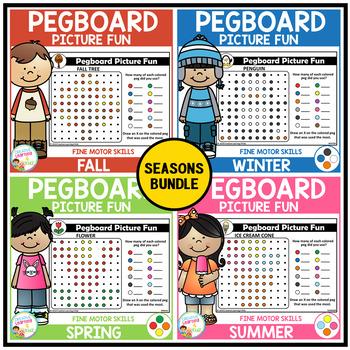 Pegboard Picture Fun: Seasons Bundle