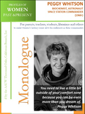 Women History - Peggy Whitson Biochemist, Space Station Commander (1960 -)