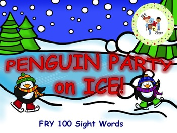Peguin Party PowerPoint Game - FRY 100 Sight Words