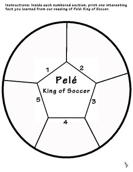 Pelé: King of Soccer Graphic Organizer