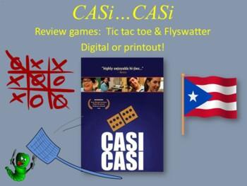 Película: Casi Casi review games Tic tac toe & matamoscas spanish film