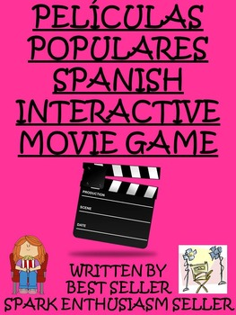 Peliculas Populares Spanish Interactive Movie Game - Best Seller
