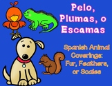 Pelo, Plumas, Escamas: Spanish Animal Coverings Sorting Center