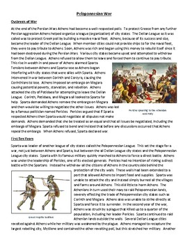 Peloponnesian War - Comprehensive Reading