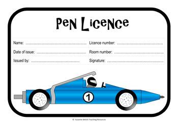 Pen Licence / Pen License