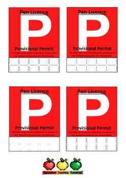 Pen Licence Permits