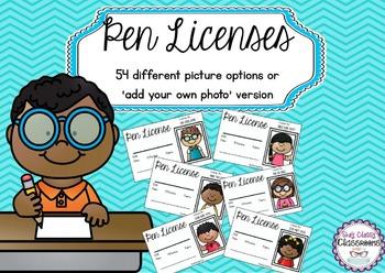 Pen Licenses