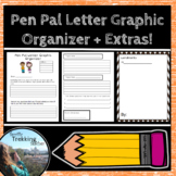 Pen Pal Letter Graphic Organizer + Extras!