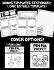 Pen Pal Letter Kit! Graphic Organizers and Stationary for the Whole School Year!