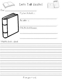Pen Pal Letter Templates