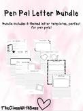 Pen Pal Letter Templates