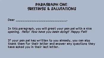 Pen Pal Planning Guide FREEBIE!