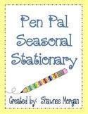 Pen Pal Seasonal Stationery