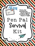 Pen Pal Letter Writing Survival Kit