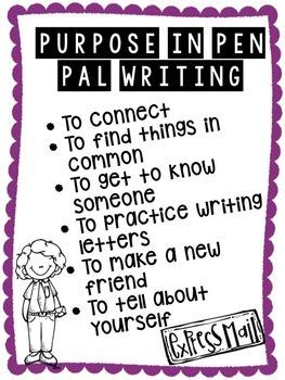 Pen Pal Writing