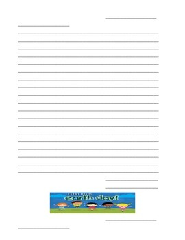 Pen Pal Writing Pages-Seasonal-Writing Materials-Friendly Letters