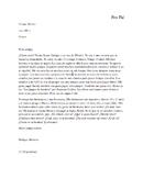 Pen Pal assessment (MYP friendly- phase 1)
