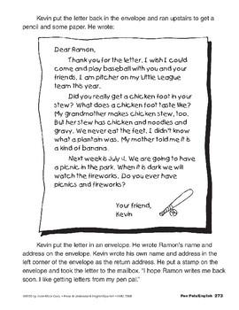 Pen Pals/Amigos por correspondencia