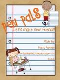 Pen Pals: Let's Make New Friends