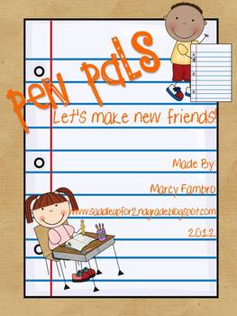 Pen Pals: Let's Make New Friends