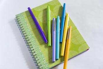 Pen & Paper Stock Photos