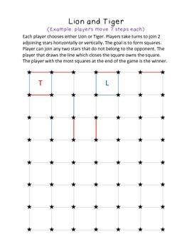Pen and Pencil Board Games Fun Printables