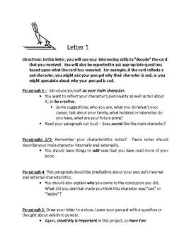 Pen-pal Letter #1
