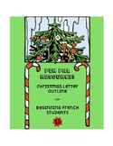 Pen pal letter outline - Christmas