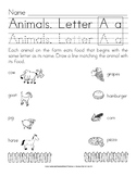 Pencil Activities: Manuscript Handwriting Exercises