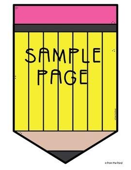 Editable Classroom Banner - Pencil Banners for the Classroom {Plain + Editable}