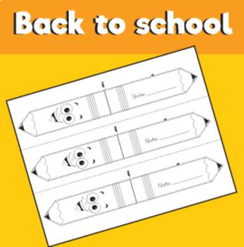Pencil Bookmark Craft