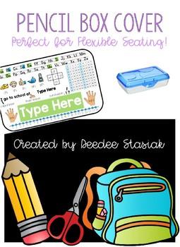 Pencil Box Cover