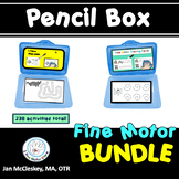 Pencil Box Fine Motor Activities:  Developing Pencil Control